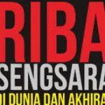 4 TAHAPAN PELARANGAN RIBA – KATAKAN TIDAK KEPADA : RIBA !